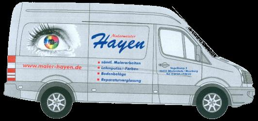 Bus Maler Marco Hayen